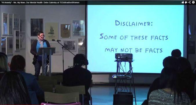 Performing at TedX, Bradford